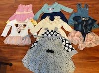 Baby girl dresses from 3-12 months Kelowna, V1W 3H8
