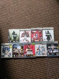 PS3 games  St. Catharines, L2T 3K8