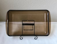 Vintage Amber PYREX 2Qt Baking/ Casserole Dish by Corning Highlands Ranch, 80129