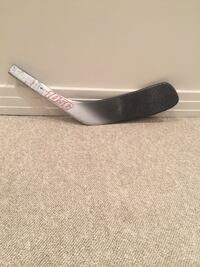 Composite hockey blade