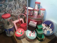 Variety of Christmas containers Albuquerque, 87107