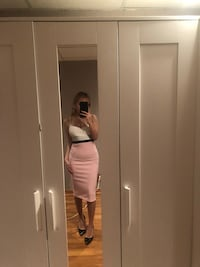 Midi dress from boutique 1861 Montréal, H8R 2S1