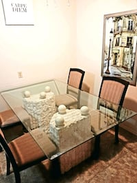 unique dining room table & chairs