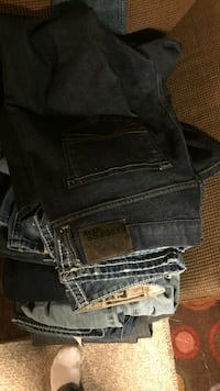 Express jeans some with tags still on them 34-32  30 for everything