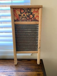 Vintage Farmhouse Washboard