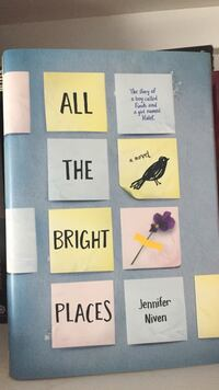 All The Bright Places by Jennifer Niven Hardcover Mississauga, L5M 5E2