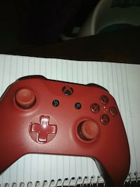 red Xbox One wireless controller Los Angeles, 90023