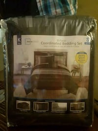King size 8 piece bed in a bag new Kalamazoo