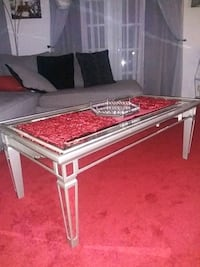 Mirror coffee table from Bob's Furniture Annandale, 22003