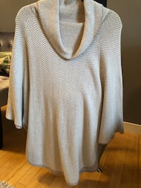 Loft cape sweater