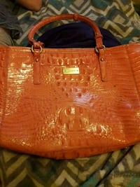 women's red leather tote bag Huntsville, 35805