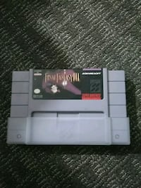 Super Nintendo final fantasy 3 Mississauga, L4X 2V8