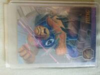 1995 Flair Marvel Annual Thing Chromium Card Sun Prairie, 53590