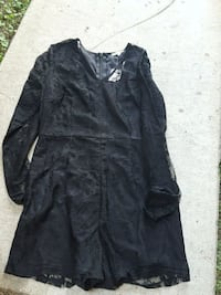 Large lace romper super cute when on. New with tag Oxnard, 93030