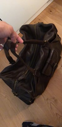 Zara pure leather travel bag Tønsberg, 3110