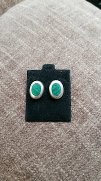 pair of sterling silver marcasite earrings Boxford, 01921