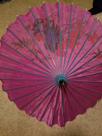 pink and purple floral umbrella Bozeman, 59715