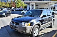 Team West Auto Group 2002 Ford Escape XLT Choice 4WD Local No accident One owner clean suv Coquitlam