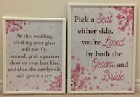 Wedding posters  MARKHAM