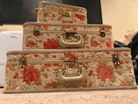 Vintage / Antique Carpet Luggage set Springfield, 22152