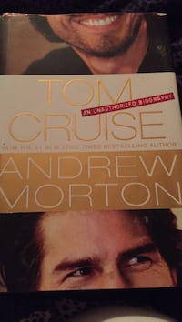 Tom Cruise the unauthorized biography hard cover
