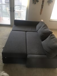 Need to sell ASAP. Sofa was nearly used and looks brand new. It can be converted into a bed.  Gaithersburg, 20878
