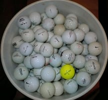 Bucket of 275 golf balls!