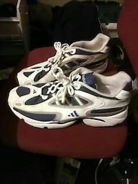 pair of white-and-black Adidas athletic shoes Chattanooga, 37406