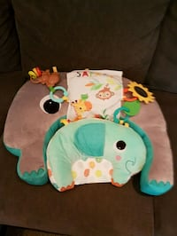 breastfeeding pillow and tummy time