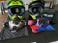 Brand New Dirt Bike ATV Helmets & Goggles Summerville