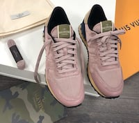 Colorway: Salmon Valentino Lowtop Sneakers  Hanover Park, 60133