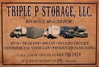 Triple P Storage RV, Trailer, Boats, Studio rigs, etc Santa Clarita