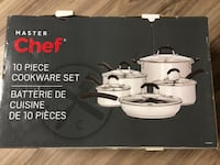 Master Chef 10-piece cookware set Calgary, T3K 3Y1