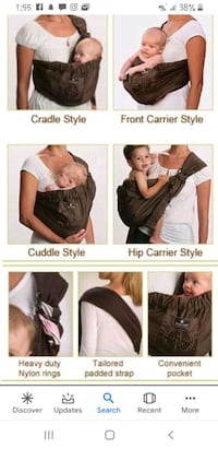 Balboa adjustable sling baby Carrier Las Vegas, 89107