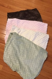 Lot of 4 chamois Pottery Barn Kids changing pad covers Herndon, 20171