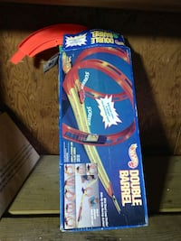 Old HotWheels Car Track