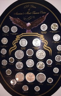150 years of coins collection Irving, 75060