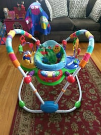 baby's multicolored jumperoo Waltham, 02453