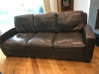 Leather soda & love seat 4pieces