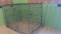 black metal folding dog crate Winchester, 22603