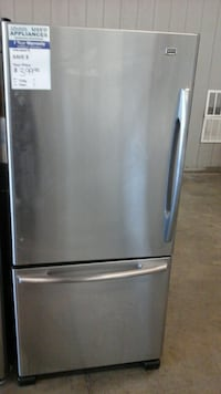 Stainless Maytag bottom freezer refrigerator Greeley, 80631