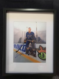 jay bouwmeester Signed and framed photo Châteauguay, J6K 2A7