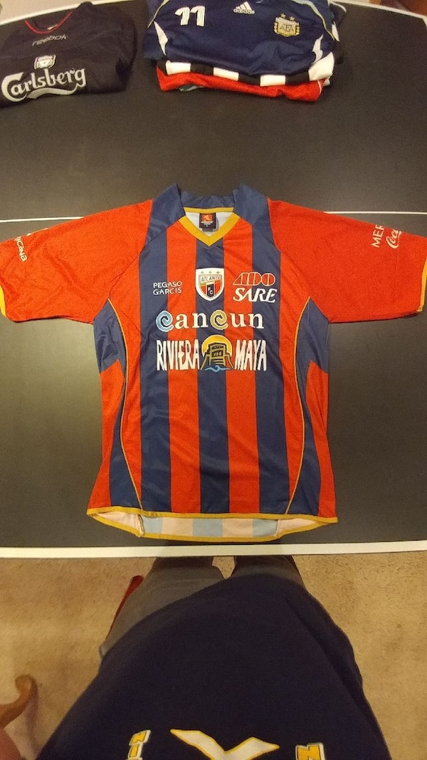 555d999fdf78 Used 09 10 Atlante FC Home Soccer Jersey for sale in Grafton - letgo