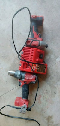 red and black Milwaukee cordless power drill Springfield, 22151