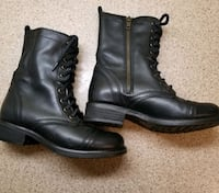 WOMEN'S STEVE MADDEN LEATHER WINTER BOOTS SIZE 7 Kitchener