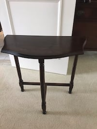 Antique side table solid wood