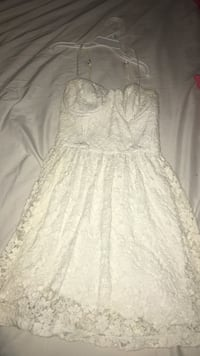 White Abercrombie and fitch dress