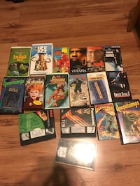 VHS movies Gonzales, 70737