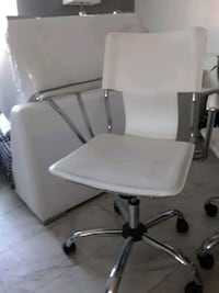 white and gray rolling chair 2275 mi