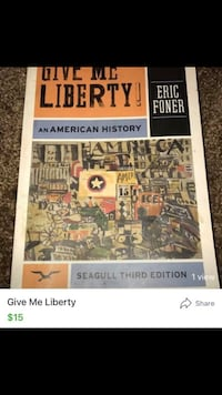 Give Me Liberty an american history book Whittier, 90601
